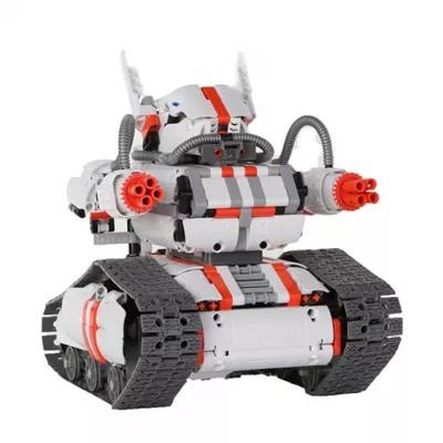 小米米兔積木機器人履帶機甲★強大的履帶戰車,陪你勇往直前,履帶底盤  高精度零件  智能操控  百變拼插