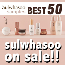 韓國化妝品試用品★increase in quantity★ 10 up! / Sulwhasoo / HERA / SUM37 / CREAM / Serum