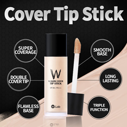[W.Lab] Cover Tip Stick + Perfectly Covered Complexion❤ SPF 50+ PA+++