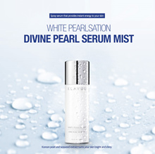 ★KLAVUU WHITE PEARLSATION Divine Pearl Serum Mist 50ml★ / moisturizing/ micro mist/ keep your make up/ skin care/ beauty/ cosmetic/ korea/ komall_021