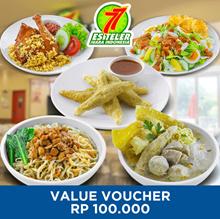 [FAST FOOD] Es Teler 77 100k Value Voucher