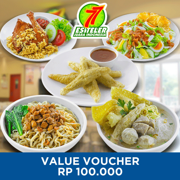 [FAST FOOD] Es Teler 77 100k Value Voucher Deals for only Rp96.000 instead of Rp96.000