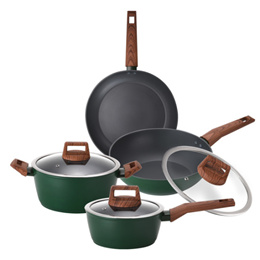 [KITCHENFLOWER] Cookin IH 3-5 set / cooking frying pan pots wok / induction