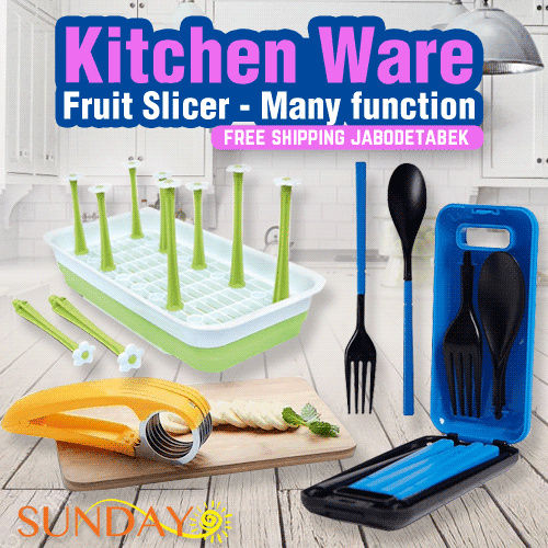 [Sunday] Kitchen Ware Deals for only Rp39.000 instead of Rp39.000