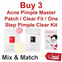 COSRX Acne Pimple Master Patch / One Step Pimple Clear Kit BHA Cocomo AHA Cleanser Snail