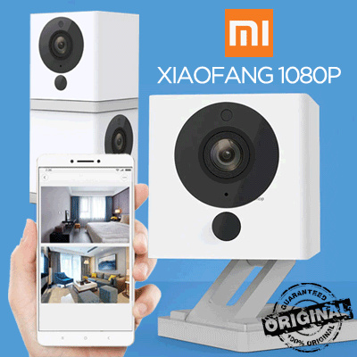 Buy [XiaoFang] 100% Original Xiaomi XiaoFang 1080P Night Vision WiFi IP Smart Camera Deals for only Rp339.000 instead of Rp339.000