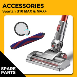 ACCESSORIES FOR SPARTAN S10 MAX CORDLESS HANDHELD VACUUM