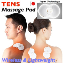 ★ Wireless Lightweight TENS Massage Pad ★ Relieves Pain Ease Fatigue | Acupoint