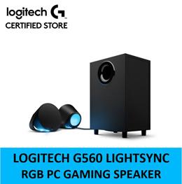 Logitech G560 Lightsync RGB PC Gaming Speaker + Free Stand 1 Year Local Warranty 980-001304