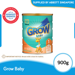 [Single Tin] Abbott Grow Stage 1 900g