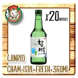 [HITE JINRO] ChamIsul Fresh - Alc17.8% (360ml X 20) $9.50 Per Btl
