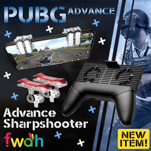★ PUBG ADVANCE Sharpshooter Assist Button L1R1 Control ★ Game Controller for Mobile Phones ★ FWAH ★