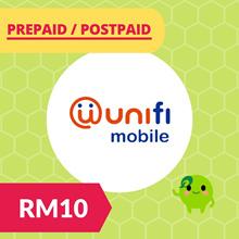 RM10 Unifi Mobile Prepaid Reload / Postpaid RM30 RM50