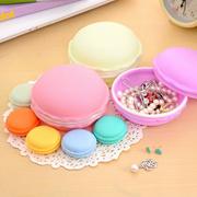 Miniature Macaron Cosmetic Small Jewellery Storage Box Container Name Card Holder Xmas Gife Idea