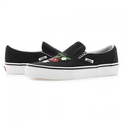 VANSVANS Burns Classic Slip on Checkered Floral Black (VANS CLASSIC SLIP ON CHECKER FLORAL)