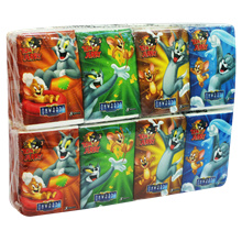 Onwards Tom  Jerry Pocket Tissue (12 Pack x 4T x 8s)