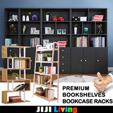 Premium Bookcase Racks/Shelves! ★Bookshelf ★Storage ★Organizer ★Furniture ★Glass Door Cabinet