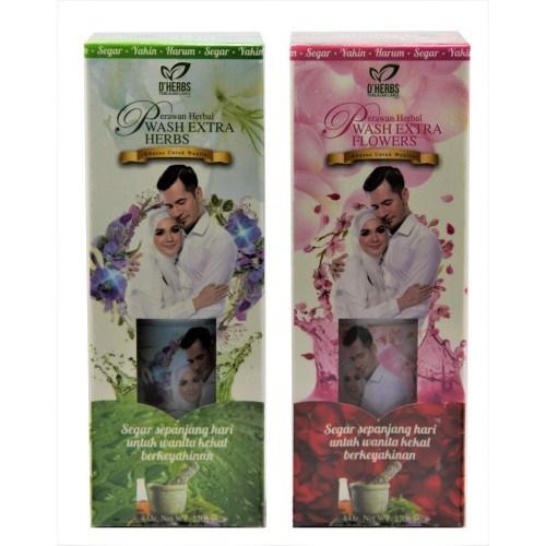 Qoo10 Dherbs Perawan Wash 120ml Extra Herbs Extra Flowers Cosmetics