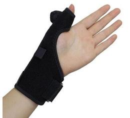 Black color Thumb Support Brace/Wrist Guard Splint Stabiliser /Sprain Arthritis Free shipping