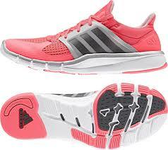 7000340d2885 Adidas Adipure 360.3 W Silver Red Womens Cross Training Shoes S77596