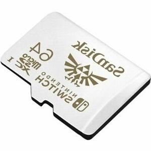 SanDisk 64GB MicroSDXC UHS-I Card for Nintendo Switch - SDSQXAT-064G