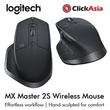 Logitech MX Master 2S Wireless Mouse (910-005142)
