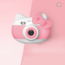 Digital childrens camera girl toy can take pictures and printable bubble camera small student portable small SLR