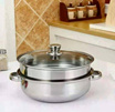 Luxury Steam Pot (Periuk Kukus) Built-in steaming plate ( deteachable ) ~ sri1