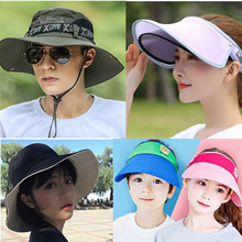 women/men Baby kids Hat sun UV cap hats Korean Summer baseball  Beanies Snap Backing