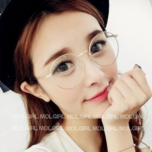 Qoo10 Korean Hipster Vintage Metal Round Glasses Frame 2944 Thin