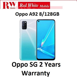 Oppo A92 8/128GB Local Warranty  with 2 Years Warranty