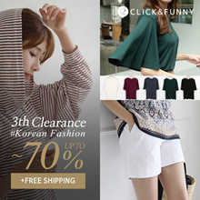 CLICKnFUNNY 2018 F/W 🍁 [~70%] 3th Clearance SALE New Arrival / Korea Fashion / Free Shipping