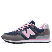 Fall of Korean women s shoes new NB balance breathable Joker shoes winter helping students with low
