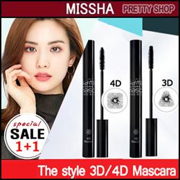 ★Missha★[1+1]The style 3D Mascara/4D Mascara