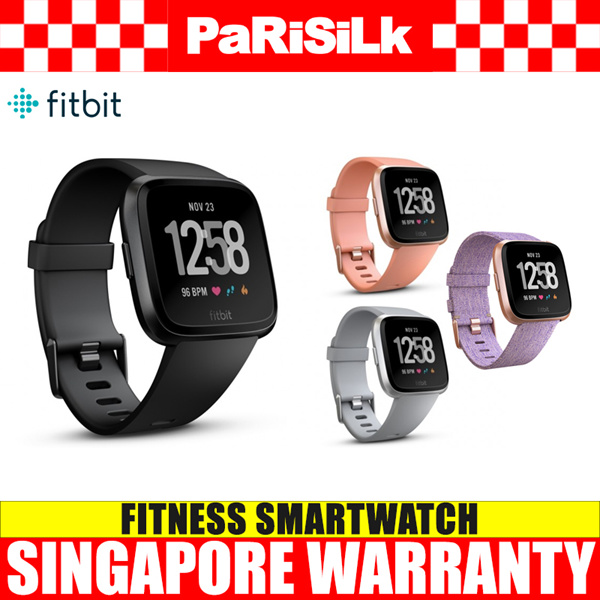 Fitbit Versa Fitness Smartwatch Deals for only S$499 instead of S$499