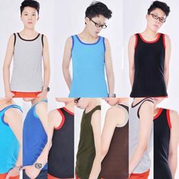 6 Size Lesbian Tomboy Casual Breath Cotten Long Chest Binder Trans Vest(12 Colors) MAQ