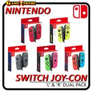 Original Nintendo Switch Joy-Con Left Right Dual Pack Capture button NFC IR Motion Features