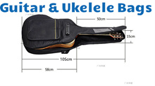 High Quality Guitar Bags 38 39 40 41 Inches For Different Sizes Of Guitars