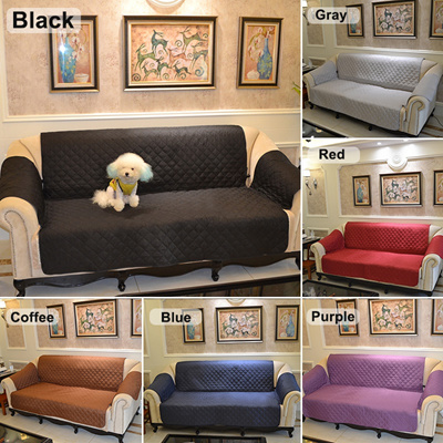 Three Seater Multi Seater Sofa Slipcover Protector Cover Suede Pet Dog Couch Sofa Scratch Proof Ant