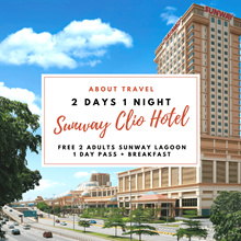 Kuala Lumpur: 2D1N Sunway Clio Hotel (FREE 2 Adults Sunway Lagoon Water Theme Park+ Breakfast)