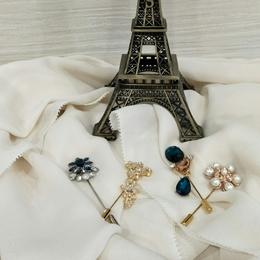 7344cbc2e WOMEN FASHION - Brooch Pin for Shawls Hijab Blouse Dress Casual Everyday  Wear