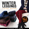 [Best Selling] 2016 Women/ Men Winter Leggings /-15 degree keep warm/ inner wear/ Women pants /plus size ~ Buy 3 Free Shipping ~