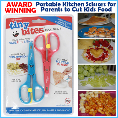 search. Tiny Bites Food Shears   Award Winning   Portable Kitchen Scissors  for Parents to 94a511fea6