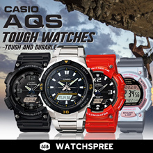 [CHEAPEST PRICE IN SPORE] *CASIO GENUINE* TOUGH AND DURABLE AQS800W SERIES! Free Shipping
