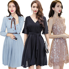 Korean style Slim dress/Sexy/Strapless/Halter/Little black dress/Sexy evening dress/Short sleeve