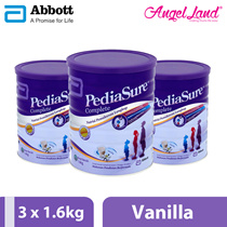 Pediasure Complete S3S Vanilla (1-10 Yrs)  1.6kg (3 tins)