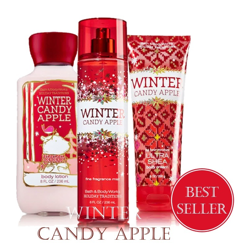 Qoo10 -  BEST SELLER  BATH and BODY WORKS Winter Candy Apple BBW ... 5f98803093