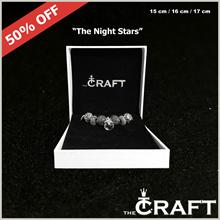 [NEW!] Premium Quality European Style 7 Beads Charm Bracelet :  The Night Stars