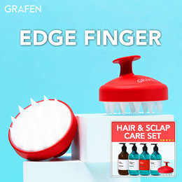[GRAFEN]🌈Edge finger / Scalp care / Authentic /Anti hair loss /Shampoo brush / deep clean
