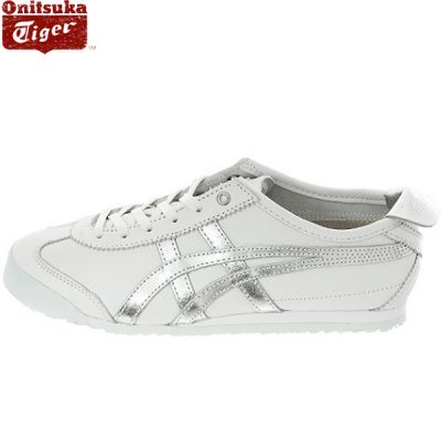 buy popular 4885e b99da Onitsuka tiger / Mexico 66 /white silver / d508k-0193